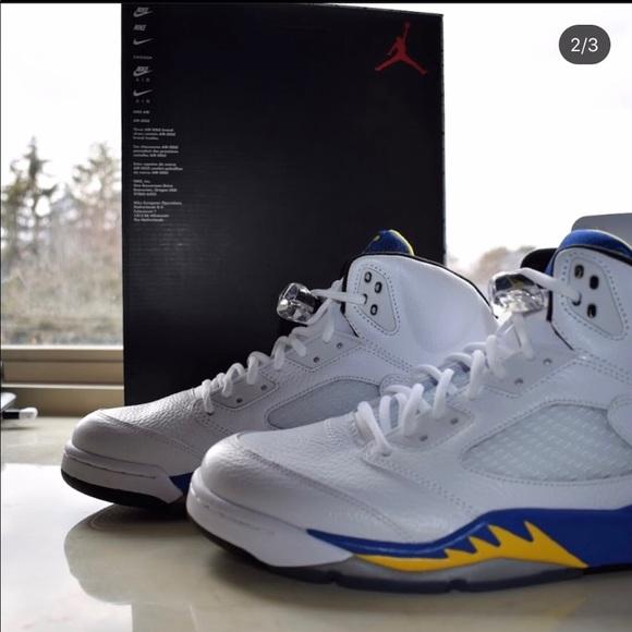 Air Jordan Retro 5s Laney